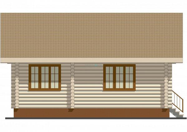 Сруб дома 11 х 9 > 87 м² | DK-16-87