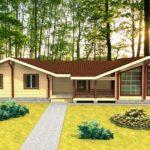 Сруб под дом 20 х 11 >164 м² | DK-13-164