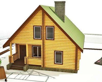 8x9 > Проект дома - 141м²