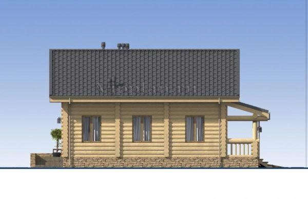 Сруб дома 10 х 12 > 96м² | VG2518