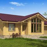Проект дома 14 х 9 > 100 м² | VG2719