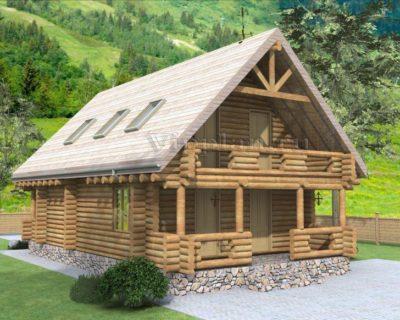 Сруб для дома 10 х 8 > 94 м² | VG1127