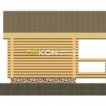 Сруб бани 5 х 5 > 20 м² | DK-20