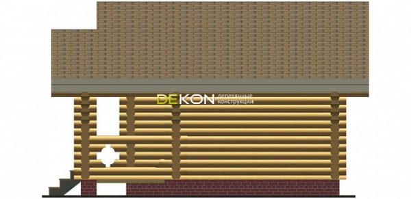 Сруб бани 5.5 х 5 > 21 м² | DK-21