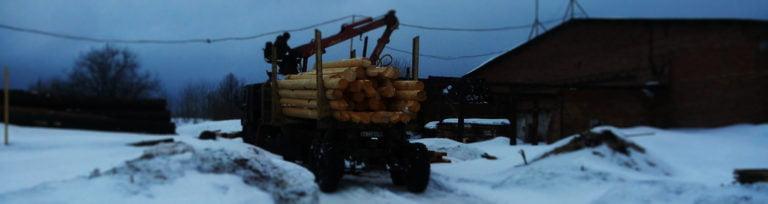 Рубочная площадка в Вологодской области