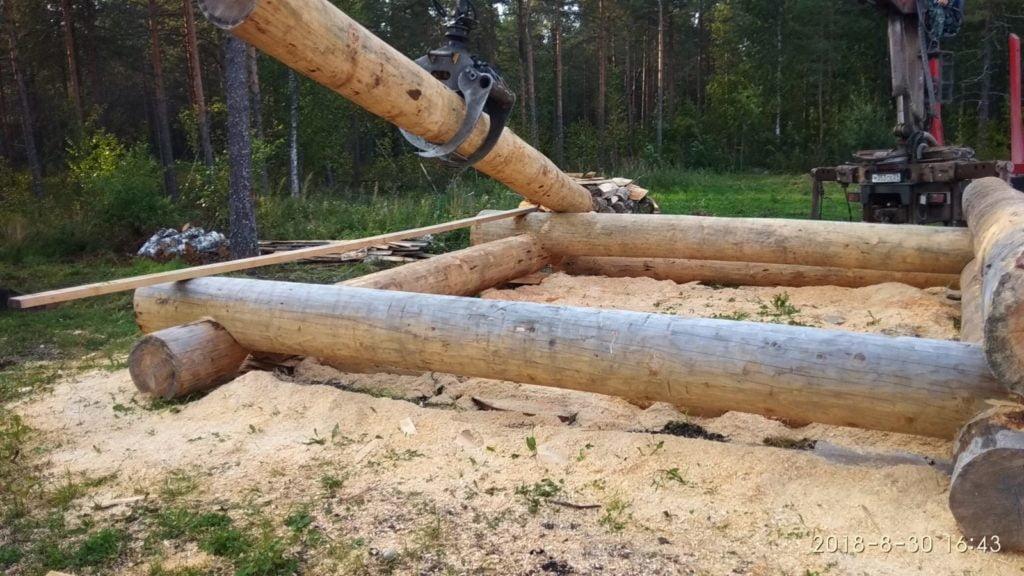5 -Фото-отчет: Сруб бани 6 на 6, Вологда - img 20180830 164343